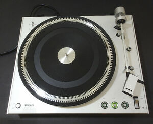 Philips DC Servo Belt Drive Electronic 212 Turntable