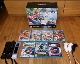 Wii U Premium Mario Kart 8 bundle + 7 games