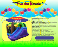 Inflatable bouncer rentals for PRIVATE PARTIES from $69 for 24 h