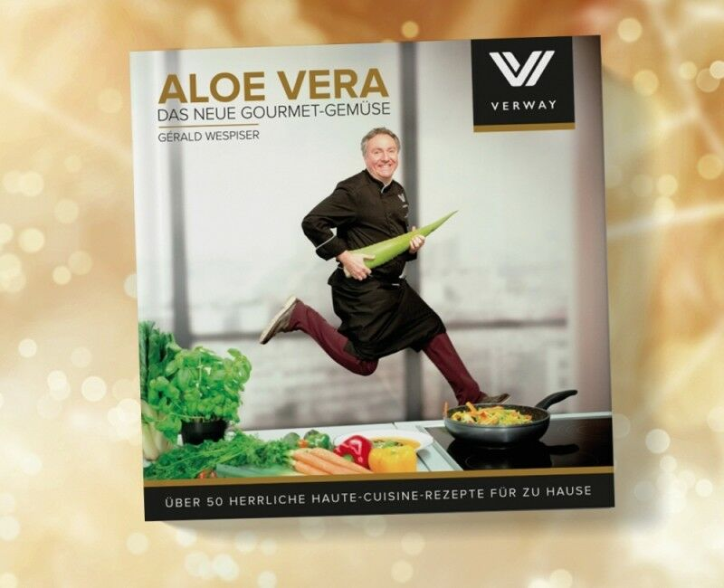 Verway Aloe Vera Neue Gourmet Gemüse Kochbuch - Gérald Wespiser leckere Rezepte