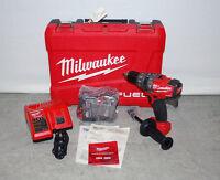 Milwaukee 2604-22 18V Cordless M18 FUEL Lithium-Ion Hammer Drill