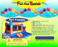 BOUNCY CASTLE RENTALS FROM $124 FOR 24 HOURS
