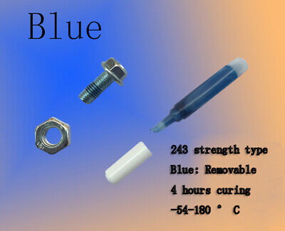 Medium Strength Threadlocker 242 - 2ml - Why Buy Blue Loctite 242 243