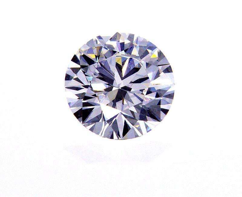 0.40CT Natural Loose Diamond D Color VVS2 GIA Certified Round Cut Brilliant