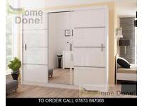 vasdc Vicot Sliding Door Wardrobe in High Gloss and Matt