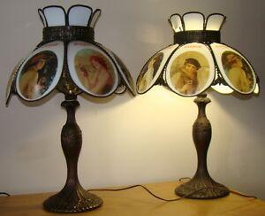 2 Coca Cola lamps