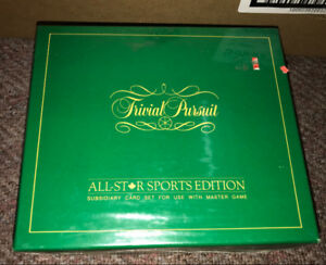 Trivial Pursuit All-Star Sports Edition ~ New/Factory Sealed