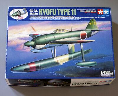 TAMIYA PROPELLER ACTION SERIES 61507 KIT 1/48 JAPANESE KAWANISHI KYOFU TYPE 11