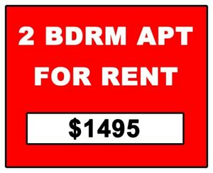 2 BDRM APARTMENT FOR RENT - WEST END - BRIGHT AND CLEAN