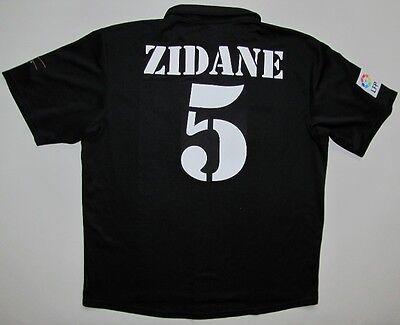 f9439f5181b Real Madrid Zidane 2002 03 LFP shirt Adidas centenary jersey maillot  camiseta L