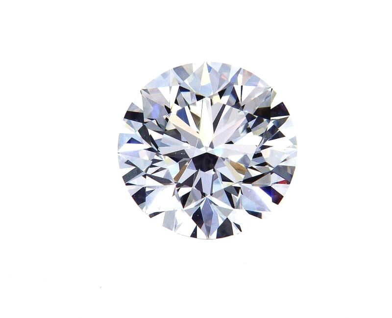 1.27CT Diamond I Color Flawless Natural Round Cut Brilliant GIA Certified