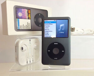 160GB iPod Classic 7th Generation - Complete In Box