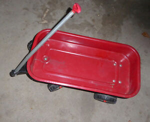 Radio Flyer metal toy wagon (for kids to pull toys) Kitchener / Waterloo Kitchener Area image 1