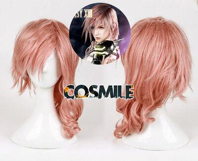 Final Fantasy XIII FF13 FF XIII Eclair Farr Lightning Cosplay Hair Wig Game - Lightning Ff Kostüm