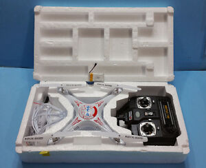 NEW,X5 quadcopter,with 3 x 800mAh LiPo BATTERIES,2.4G 4CH 6 Axis