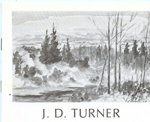 J.D.TURNER: EXHIBITION AND SALE OF WORKS c. 1980