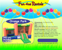 Bounce House rentals  - NEW SPECIAL WEEKEND OFFER