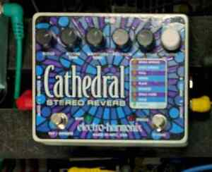 Cathedral reverb by ehx London Ontario image 1