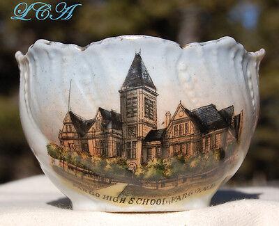 Antique FARGO High School NORTH DAKOTA cup D. J. Delendrecie OVER a CENTURY old!