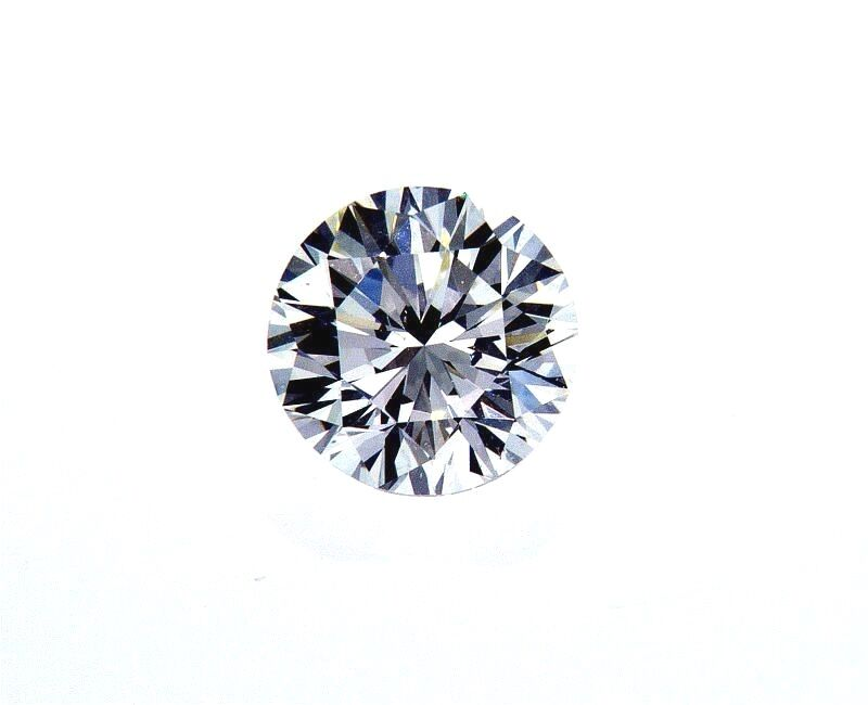 Real Diamond 0.33CT K Color VS1 Clarity Natural Loose GIA Certified Round Cut
