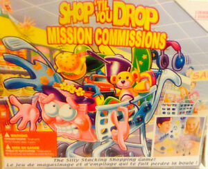Shop until you drop game and flash art still in orig box