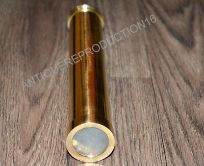 Vintage Brass 7  Kaleidoscope Polish Finish Good Collectible Gift