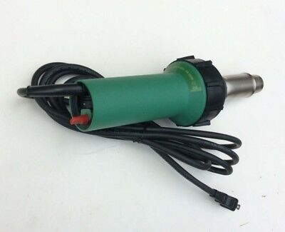 230v Plastic Welder Hot Air Gun 220v Heating Elementtwo Nozzles Floor Welding