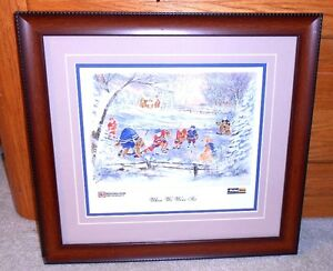 NHL Hockey Original 6 Picture Photo Print