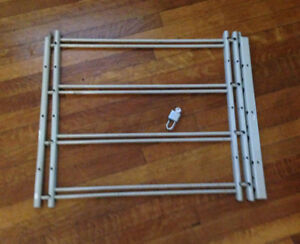 INTERIOR WINDOW SECURITY BARS-UNLOCK FROM INSIDE FOR FIRE EXIT