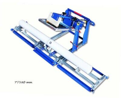 1 Color Curved Screen Printing Machine Tube Bottle Arc Screen Press 7180 Mm