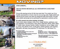 ██☎☎PROFESSIONAL MOVING AFFORDABLE RATE (BUSINESS, LICENSED)