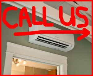 Ductless Air Conditioner or Mini Split Ac Installations