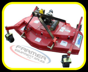 "5' / 60"" & 6' / 72"" Finishing Mowers, NEW with warranty IN STOCK"