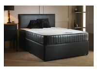 "Cheap Price -- Double Divan Base + 10"" Orthopaedic Mattress -- Brand New -- Same Day Free Delivery"