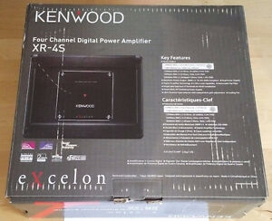 Kenwood Excelon XR-4S 4 Channel Digital Amplifier