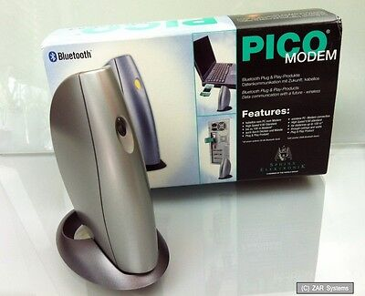 PICO Bluetooth 56K Fax-Modem, V.90, analog, ohne Kabelsalat ins Web, NEU 56k, Bluetooth