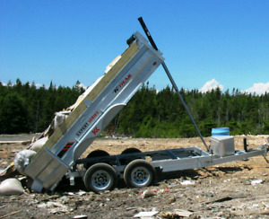 Dump Trailer You Load & We Haul Service $140 per load 663 9507