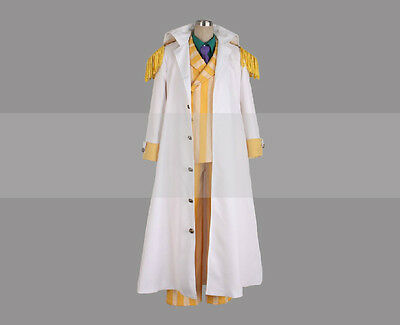 Custom Made One Piece Marine Admiral Kizaru Borsalino Cosplay Costume Coat Buy