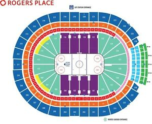 Jets vs Oilers DEC11 CENTRE ICE Spectacular Unobstructed View!!