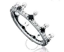 Pandora Crown Sterling Silver Ring