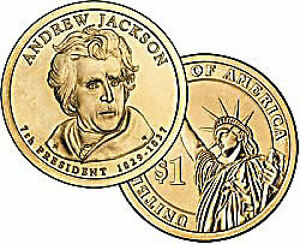 Andrew Jackson $1.00 coin