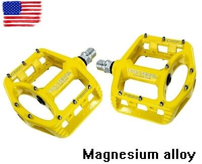 Road MTB Mountain Bike Bicycle Pedal Flat-Platform Pedals magnesium alloy 528