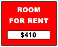 ROOM FOR RENT - STUDENT $410 (5 Min from Trent)