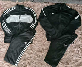 Boys 12-13years nike & adidas tracksuits