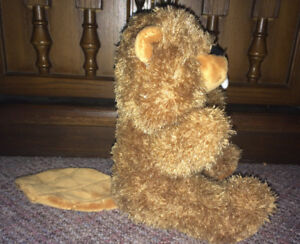 "Plush Stuffed Beaver Animal 8"" Creature Comforts"