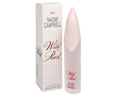 Naomi Campbell Wild Pearl Edt Spray  Women  1 6 Oz  New In Box