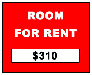 ROOM FOR RENT - STUDENT $310 (Downtown)