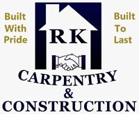 RK CARPENTRY & CONSTRUCTION