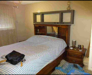 Bedroom set and pool table
