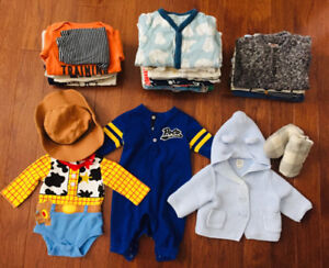 0-3month baby boy clothes